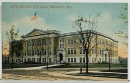 MN West Side High School Minneapolis Minnesota Postcard P1 - $12.95