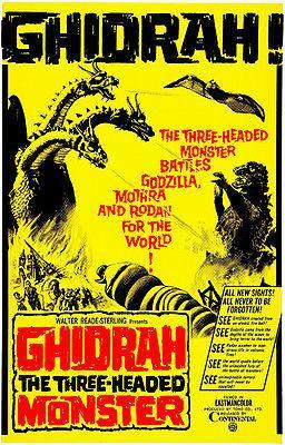 Primary image for Ghidrah! - 1964 - Movie Poster