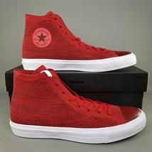 Converse CTAS Flyknit Hi Top Shoes Size 11 Mens Chuck Taylor Sneakers Re... - $93.49