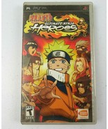Naruto Ultimate Ninja Heroes  PSP Game With Instruction Booklet and Case - $11.99