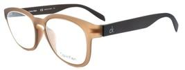 Calvin Klein CK5830 210 Unisex Eyeglasses Frames 50-19-145 Chocolate Brown ITALY - $44.35