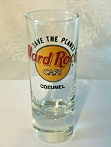 """Hard Rock Cafe COZUMEL - 4"""" City Shot Glass - COLLECTOR'S ITEM!  Save Th... - $5.95"""