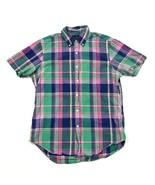 VINTAGE Ralph Lauren Custom Fit Button Up Adult Medium Fresh Prince Prof... - $21.11