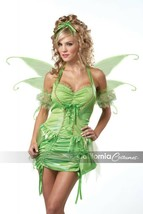 California Costumes Green Fairy Tinkerbell Adult Womens Halloween Costum... - $34.62
