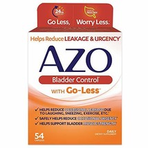 AZO Bladder Control® with Go-Less® Daily Supplement | Helps Reduce Occas... - $8.90