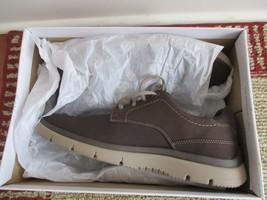 BNIB Clarks Cloudsteppers Tunsil Plain Men's Sneaker, Brown, pick size, MSRP $80 - $55.00