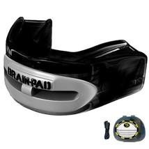 Brain-Pad Youth Pro+Plus Double Laminated Mouthguard (Black/Gray) - $30.68