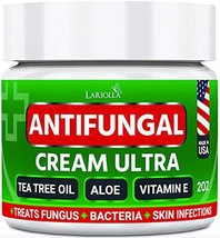Natural Antifungal Cream - Made in USA - Effective Treatment for Toenail Fungus,