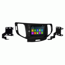 DVD GPS Navigation Multimedia Bluetooth Radio and Dash Kit for Acura TSX... - $296.88