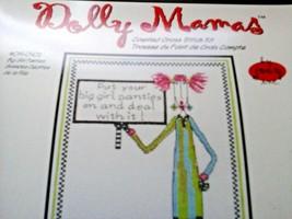 """Janlynn Dolly Mamas 2005 """"BIG GIRL PANTIES"""" Counted Cross Syiych Kit  #019-0402 - $14.84"""