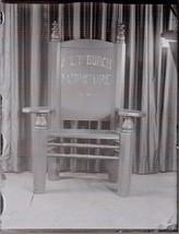 Glass Negative Slide Antique Photo Avery Burch Furniture Hannibal Missou... - $44.00
