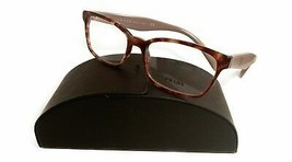 Prada Women's Pink Tortoise Glasses with case VPR 18T UE0-1O1 53mm - $209.99