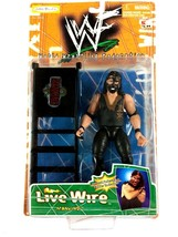 Mankind WWF Livewire Jakks K-Mart Exclusive Action Figure WWE Ladder Mic... - $24.70
