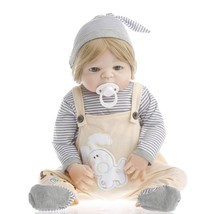NEW! Reborn Baby Doll Boy Real Handmade Toddler Lifelike Newborn 22in  - $84.04