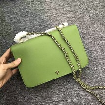 Tory Burch Green Robinson Adjustable Shoulder Bag - $300.00