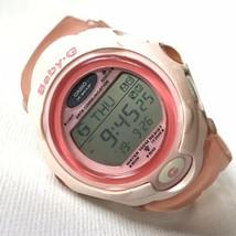 Casio Baby-G Data Communication Digital Watch Women's Pink 2496 BGF-130 ... - $45.71 CAD