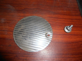 Singer 15-91 Rear Arm Inspection Cover #125339 Striated w/Thumb Screw - $12.50