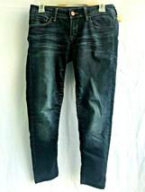 Mavi Women's Blue Dark Wash Jeans Size 10 Cropped Straight Leg  - $15.35