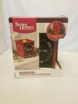 Better Homes And Gardens Festive Wreath Scented Wax Warmer Tis the Season to be - $14.99