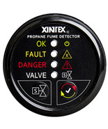 Xintex Propane Fume Detector w/Plastic Sensor & Solenoid Valve - Black B... - $286.90