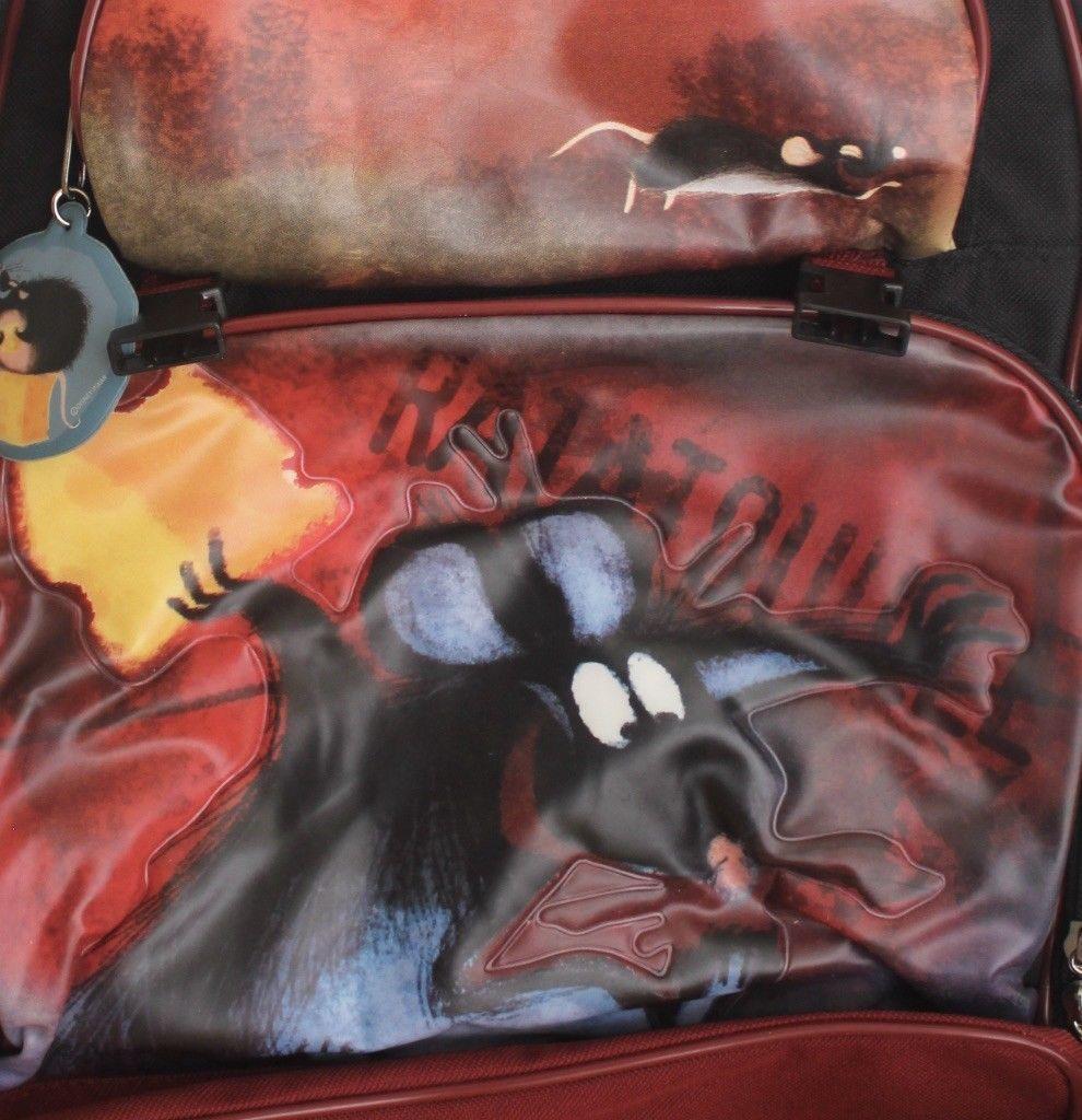 Disney Pixar Ratatouille Remy Rat Children's School Backpack & Lunchbox Pail Set
