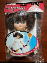 VIntage Fibre Craft Brunette Air Freshner Doll Body Crochet Pattern 5 3/... - $10.84