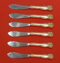 La Reine By Reed and Barton Sterling Silver Trout Knife Set HHWS 6pc Custom  - $909.00