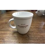 Starbucks Coffee Co Est 1971 Holiday 2007 Mug White Red 18 fl oz - $12.82
