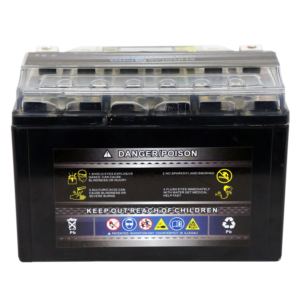 YTX9-BS Rechargeable iGel Motorcycle Battery for SUZUKI DR650SE 650CC 1998-2014