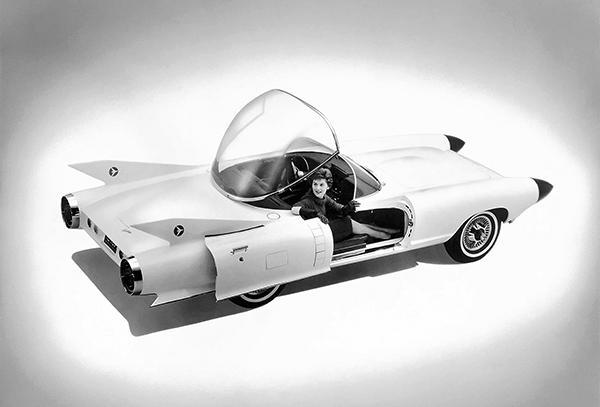 Primary image for 1959 Cadillac Cyclone Concept Car - Promotional Photo Poster