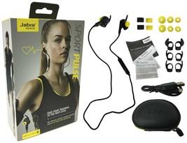 Jabra Sport Pulse Bluetooth Wireless Headset In-Ear Heart Rate Monitor W... - $34.99