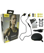 Jabra Sport Pulse Bluetooth Wireless Headset In-Ear Heart Rate Monitor W... - $34.99