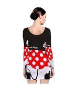 Minnie Mouse Movie  Long Sleeve Bodycon Dress - $18.99+