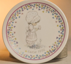 Precious Moments: Easter Plate - 1992 - Classic Display Plate - $10.06
