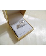 Charter Club size 10 Silver-Tone Crystal Ring BX232 $27 - $12.47