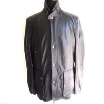 J-1237348 New Belstaff Black Blouson Zip Leather Jacket Coat Size 56 - $549.99