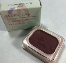 Mary Kay Powder Perfect Eye Color Shimmering Rust 3524 Eye Shadow - $11.99