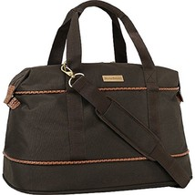 "Tommy Bahama 20"" Duffle Bag Mojito Collection Unisex Dark Brown Canvas 2... - $1.190,10 MXN"