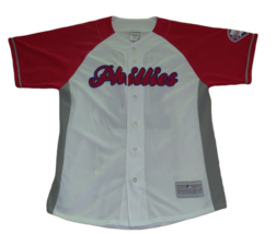 Genuine MLB Merchandise Jersey Philadelphia Phillies Mayberry 2009 Size Large - $21.46