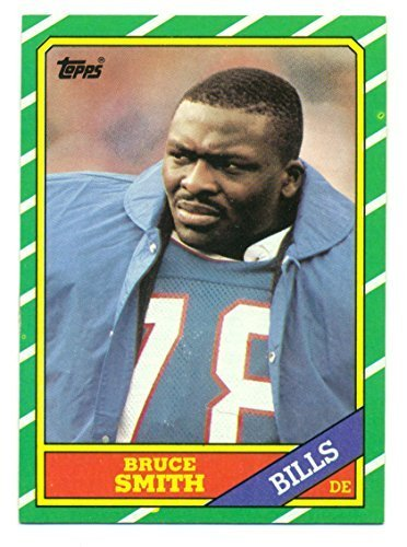 1986 Topps Bruce Smith #389 - Buffalo Bills - Football Card