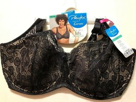 NWT Playtex Love My Curves Lightly Lined Underwire Bra Style US4514 42DD... - $13.94