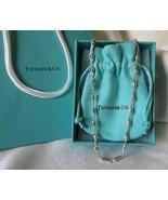 Tiffany & Co. Elsa Peretti Sterling Silver Continuous Teardrop Necklace~... - $425.00