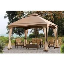 Soft Top Gazebo Mosquito Netting Backyard Canopy Tent Outdoor Patio Furn... - $609.83