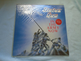 Status Quo – In The Army Now Vinyl Record 1986 VERH 36A - $13.23