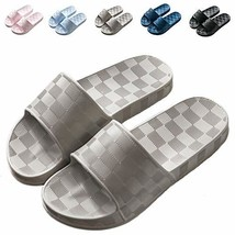 Shower Sandal Slippers with Drainage Holes Quick Drying Bathroom Slipper... - $13.24