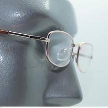 Petite Recatngle Small Gold Metal Frame Spring Hinge Reading Glasses +1.00 Lens - $14.97