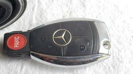Mercedes Ignition Start Switch Module & Key Fob Keyless Entry Remote 2095452308 image 6