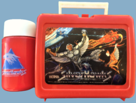 SilverHawks lunch kit with bottle Thermos brand 1986 Lorimar Telepix pop - $30.00