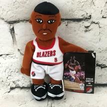 Portland Trail Blazers Steve Smith #8 Plush Soft Doll Basketball Player 2000 - $9.89
