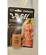 Mehron  Makeup GEL Clear Make Skin Deformities 3D Effect Makeup Scar Flesh - $8.90
